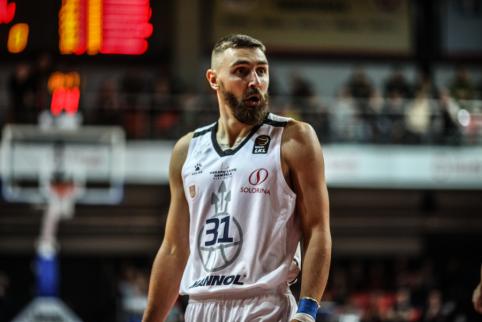D. Gailiui pritaikytos FIBA sankcijos