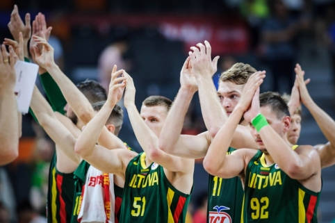 Lietuvos rinktinei – šiuolaikiškos ir labai reikalingos dovanos