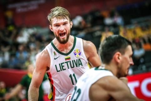 Pavyzdingai žaidusi Lietuva įveikė Kanadą ir užsitikrino vietą kitame etape