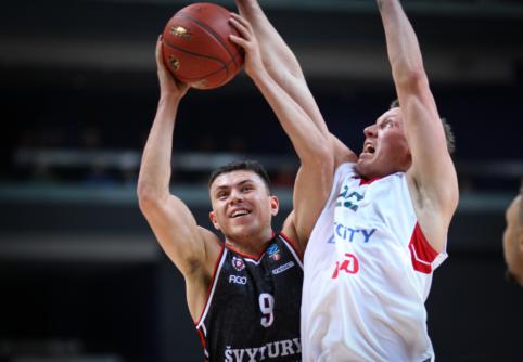 "Dramatiškas mūšis Krasnodare baigėsi ""Ryto"" pergale"