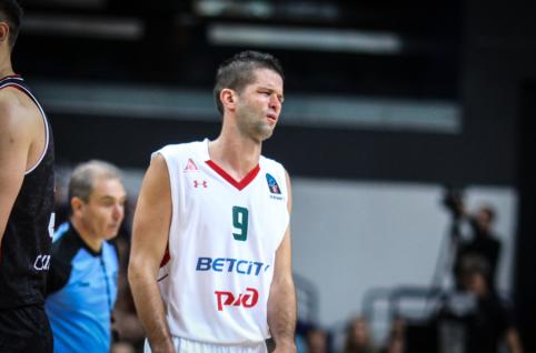 """Itin blankus Kalniečio pasirodymas pažymėtas """"Lokomotiv"""" pralaimėjimu"""