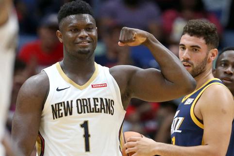 "Rezultatyvumo rekordą gerinęs Zionas nukalė ""Pelicans"" pergalę"
