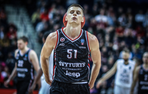 """A. Butkevičius pasirašė dvejų metų kontraktą su """"Rytu"""""""