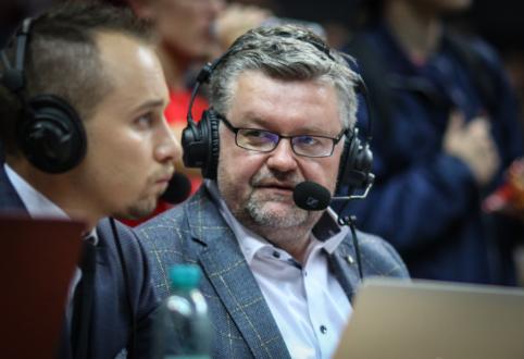 """V.Čeponis: """"Žalgirio"""" žaidėjai neretai smogė varžovams į silpniausias jų vietas"""