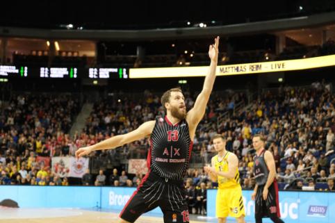 """Rungtynės tarp """"AX Armani"""" ir """"Olympiakos"""" gali vykti kitoje šalyje"""