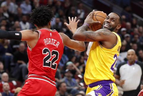 Pergalingame mače L.Jamesas pagerino NBA rekordą