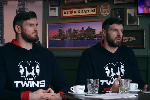 Broliai Lavrinovičiai: apie avarinį išėjimą, karatė ir gerimą su chebra