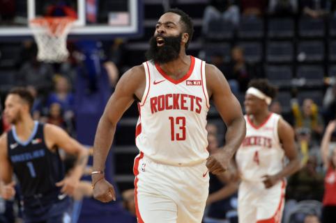 """""""Rockets"""" ir """"Raptors"""" lyderiai - NBA savaitės žaidėjai"""