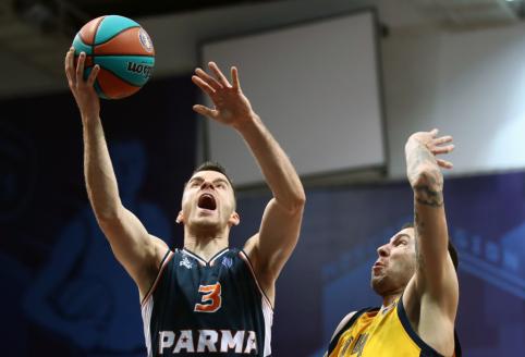 """A.Juškevičius surinko net 37 taškus, tačiau pergalę šventė """"Chimki"""""""