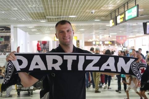 """""""Partizan"""" nutraukė sutartį su A. Parachouskiu"""