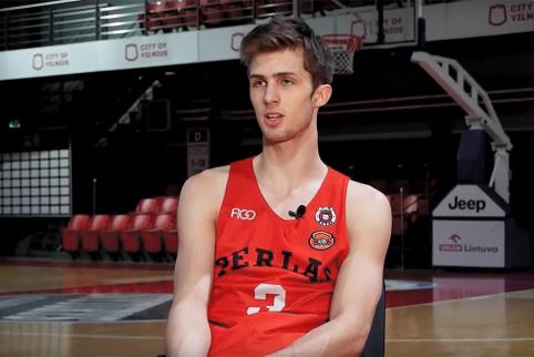 NKL geriausiu jaunuoju krepšininku išrinktas Augustas Marčiulionis