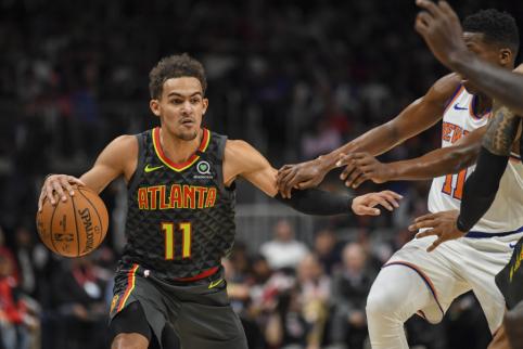 """""""Hawks"""" lyderis T.Youngas išskyrė tris geriausiai besiginančius NBA žaidėjus"""