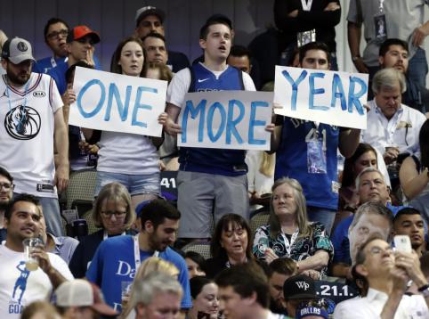 """""""Mavericks"""" fanai pasiekė sunkiai pajudinamą NBA rekordą"""