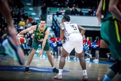 Lietuvos rinktinė nesėkme pradėjo Europos čempionato atranką