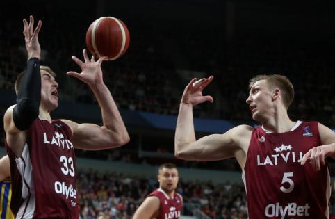 Latvijos rinktinė tik po dviejų pratęsimų pralaimėjo bulgarams