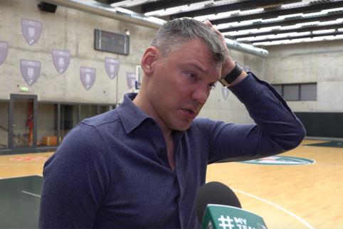"""Š.Jasikevičius: """"Zenit"""" tikrai tampa didžiule jėga"""""""