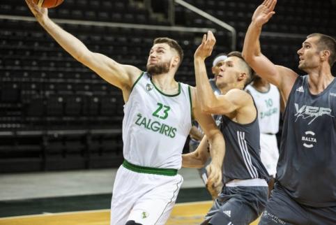 """Pristatyta naujojo sezono """"Žalgirio"""" komanda"""