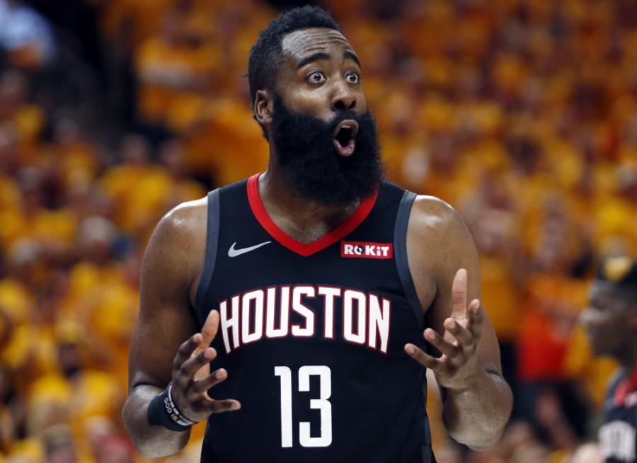 """""""Rockets"""" žvaigždė J.Hardenas: """"Stengiuosi tobulėti tiek krepšinyje, tiek gyvenime, tiek versle"""""""
