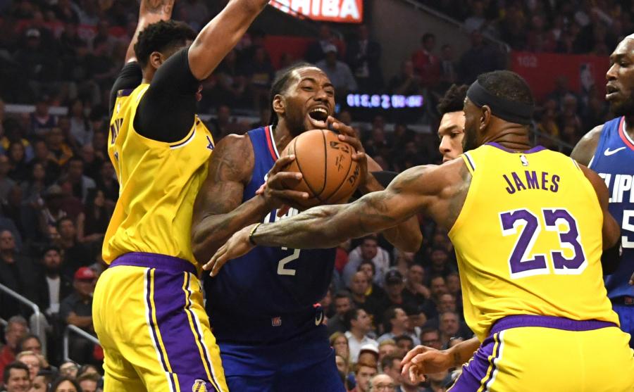 """""""Clippers"""" pareiškimas: Los Andželo derbyje nukovė """"Lakers"""""""