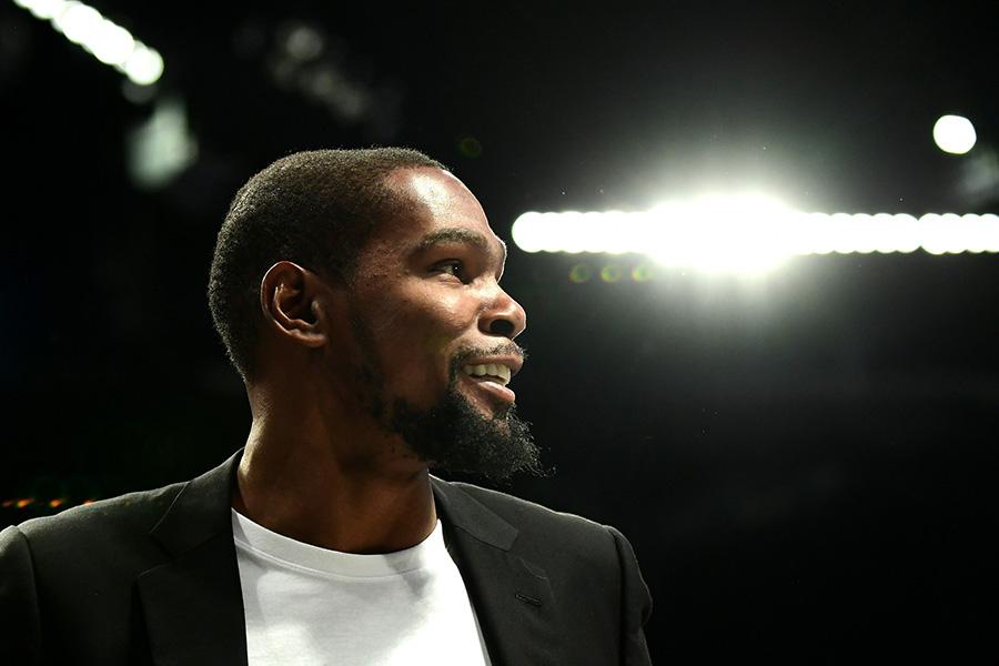 """K.Durantas: palikti """"Warriors"""" buvo lengviau nei """"Thunder"""""""