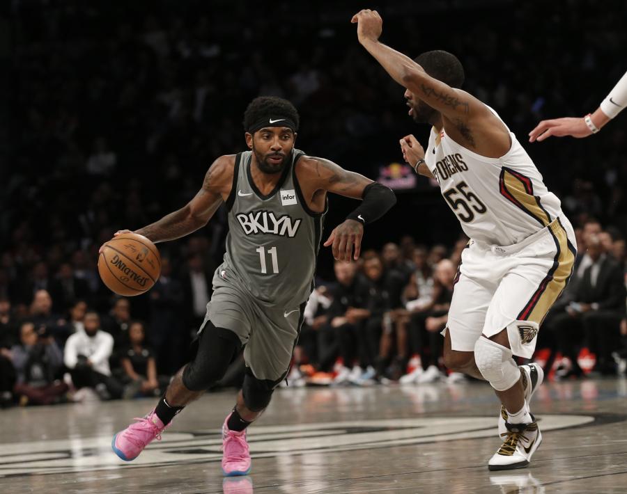 """K.Irvingas nukalė pergalę """"Nets"""""""