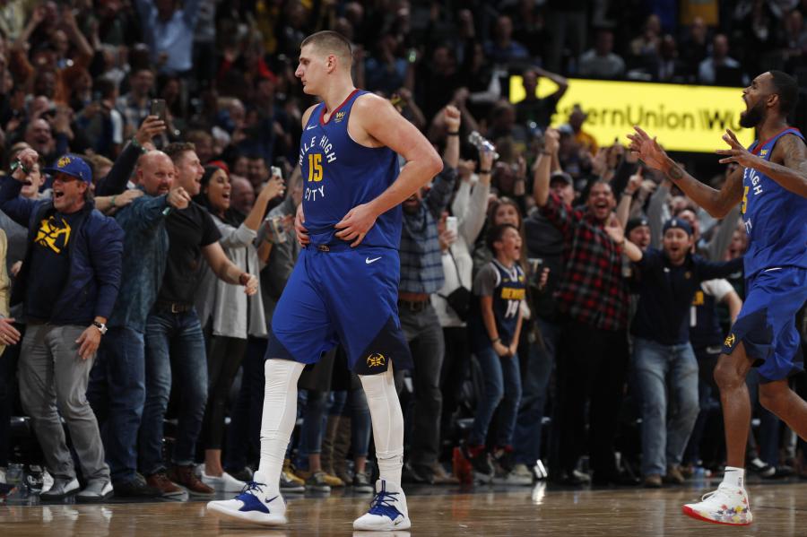 """N.Jokičius nutraukė """"Rockets"""" pergalių seriją"""