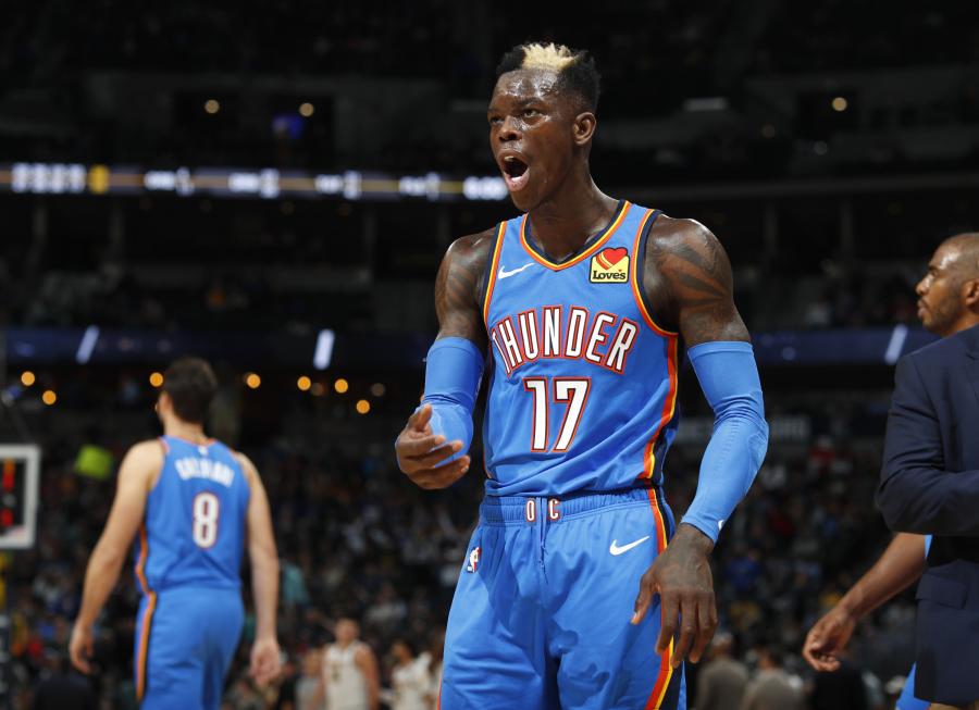 """NBA savaitės žaidėjų laurai atiteko """"Raptors"""" ir """"Thunder"""" krepšininkams"""