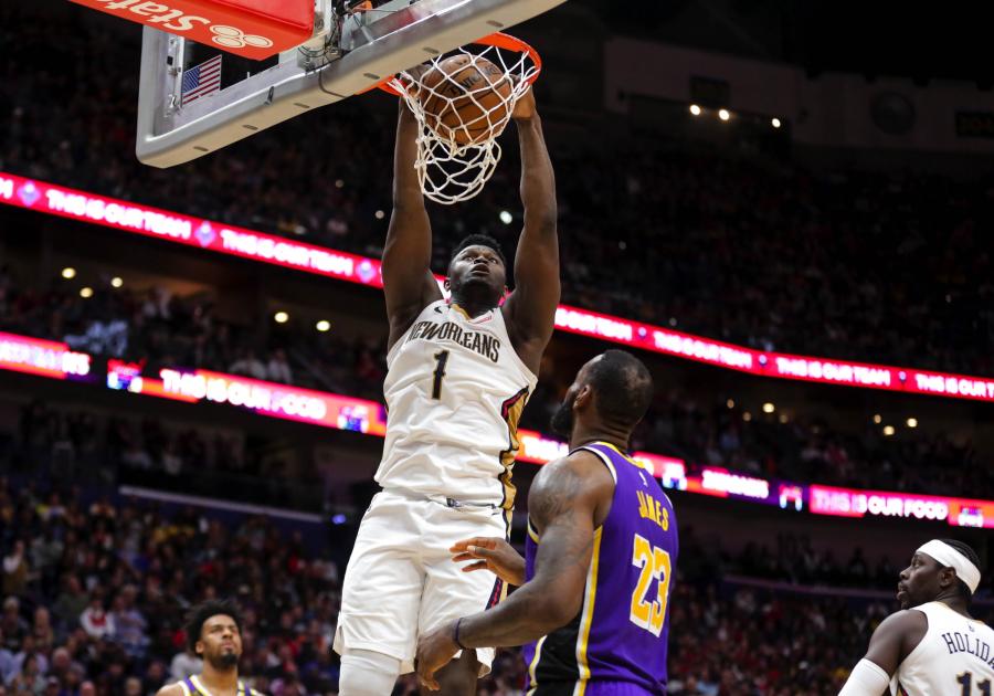"""Dominavęs Z.Williamsonas turėjo pripažinti """"Lakers"""" pranašumą"""