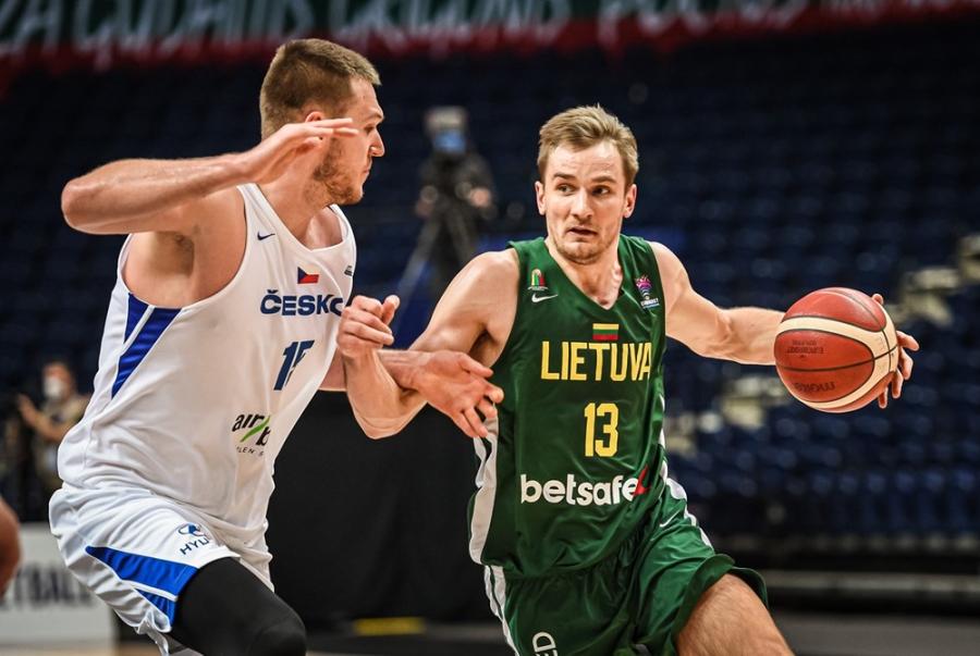 Paskelbta Lietuvos rinktinės sudėtis mačui prieš danus