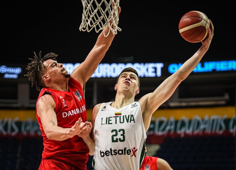 Lietuvos rinktinė nukovė danus ir pateko į Europos čempionatą